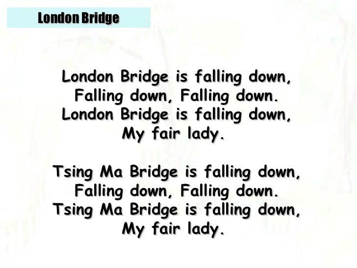 LONDON BRIDGE IS FALLING DOWN МИНУСОВКА СКАЧАТЬ БЕСПЛАТНО