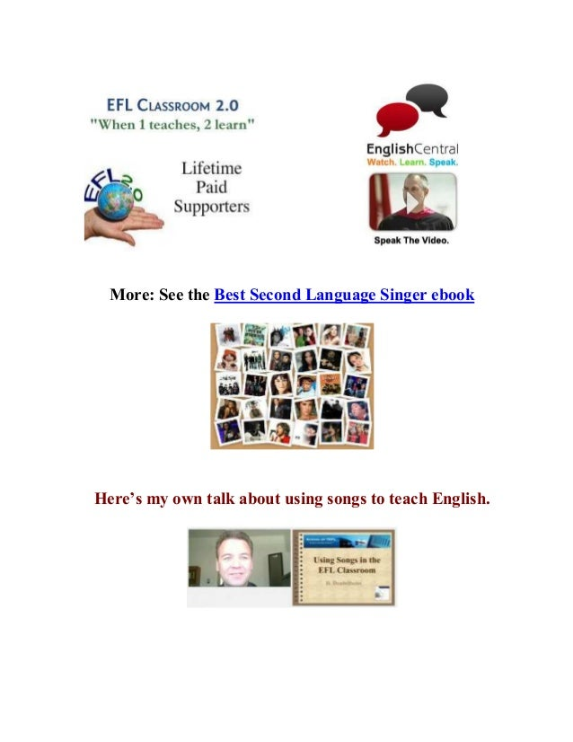 Pop song video book anywhere 3 more see the best second language singer ebook heres fandeluxe Choice Image