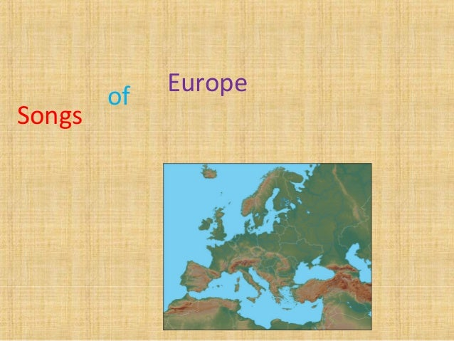 Europe Songs of