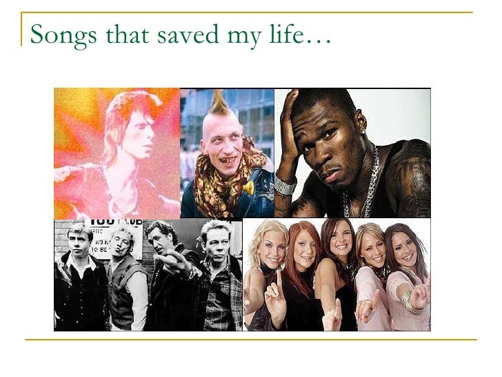 Songs that saved my life…