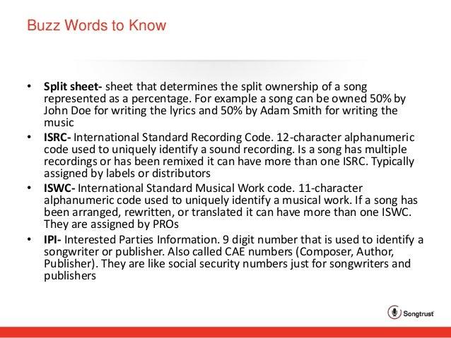 Songtrust - Music Publishing Basics
