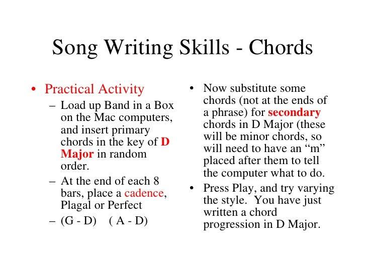 write a song chords rhett