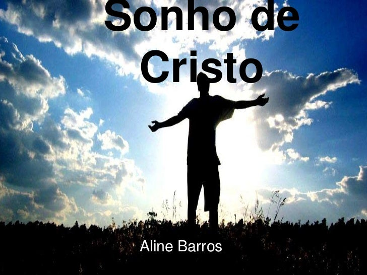 Sonho de Cristo Aline Barros