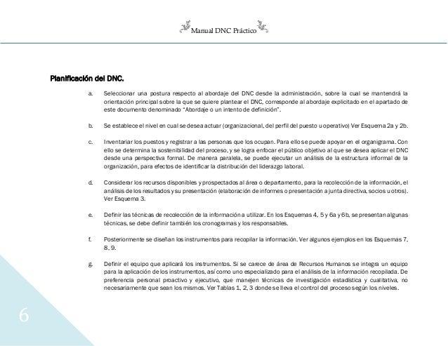 Manual DNC Práctico 6 Planificación del DNC. a. Seleccionar una postura respecto al abordaje del DNC desde la administraci...