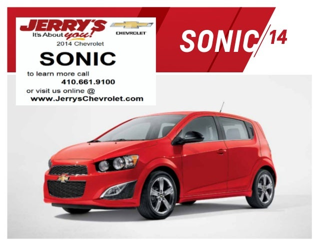 2014 Chevrolet Sonic in Baltimore, Maryland