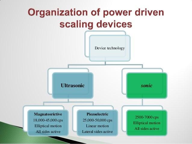 Sonic and ultrasonic scaling