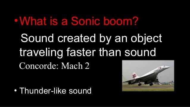 Sonic booms kaouri-2015