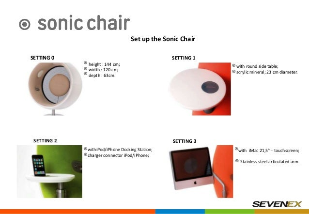 Sonic Chair do you what sonic chair is