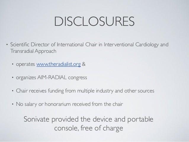 Bertrand OF - AIMRADIAL 2013 - SonicEye ultrasound Slide 2