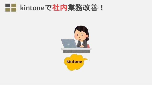 kintoneで社内業務改善!