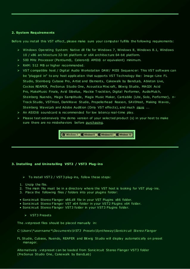 Sonicircuit Stereo Flanger Effect VST / VST3 Plugins  Virtual Stompbo…