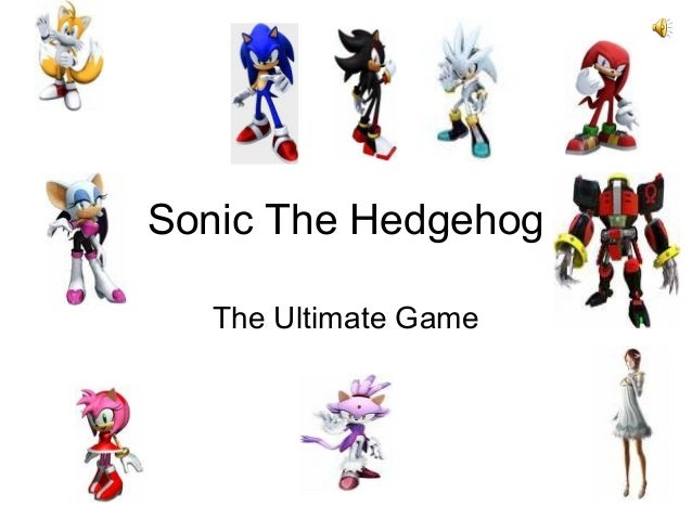 Sonic The Hedgehog The Ultimate Game