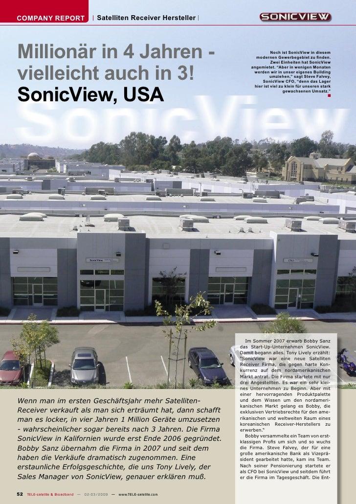 COMPANY REPORT                        Satelliten Receiver Hersteller     Millionär in 4 Jahren -                          ...