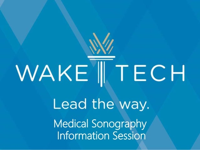 Medical Sonography Information Session
