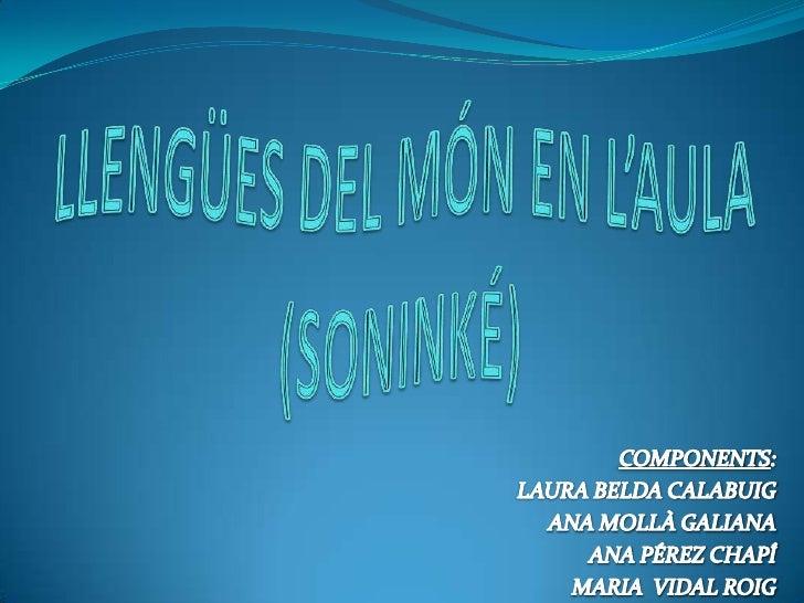 ÍNDEXINTRODUCCIÓ: Filiació lingüística, localització geogràfica i nombre de  parlants. Codi escrit: descripció i exempli...