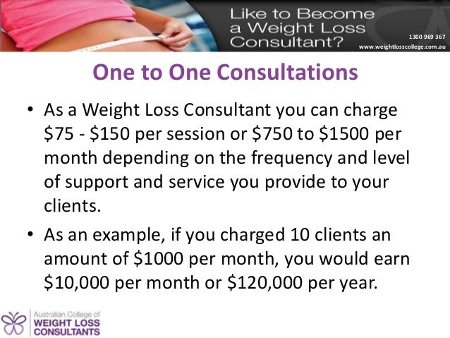 Sonja Bella Creating a 6 figure weight loss consulting practice wor – Weight Loss Consultant