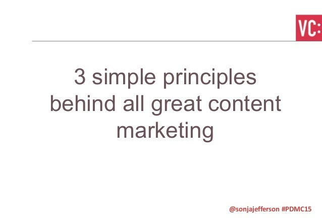 A manifesto for valuable content marketing Slide 2