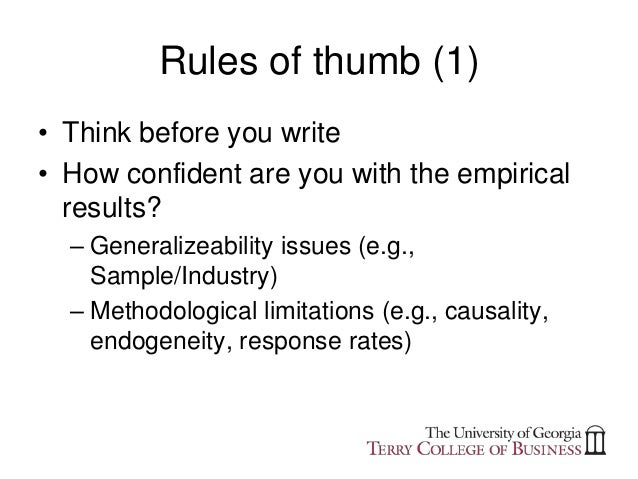thesis writing implications Students often find it useful to form a thesis writing feedback group in which they meet regularly (say monthly) so what - the implications of the findings/ discussions, why they matter this should, in certain disciplines.