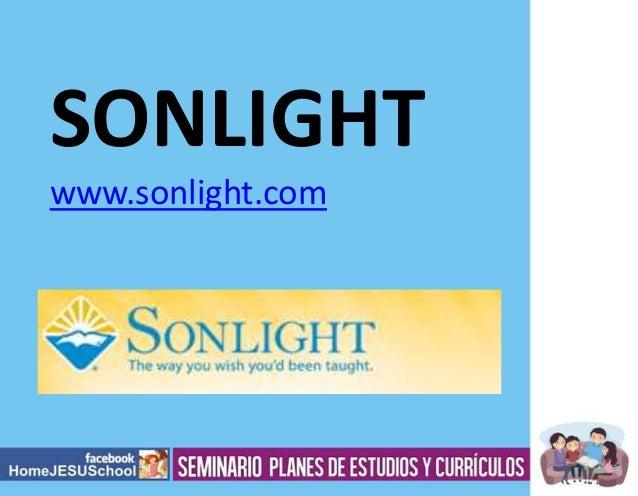 SONLIGHT www.sonlight.com
