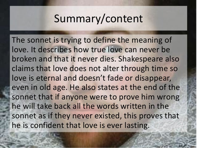 essay of sonnet 116 A summary of sonnet 116 in william shakespeare's shakespeare's sonnets   perfect for acing essays, tests, and quizzes, as well as for writing lesson plans.