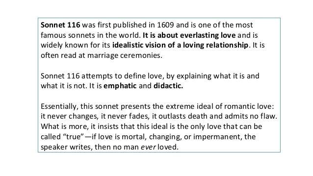 sonnet 116 critical analysis pdf