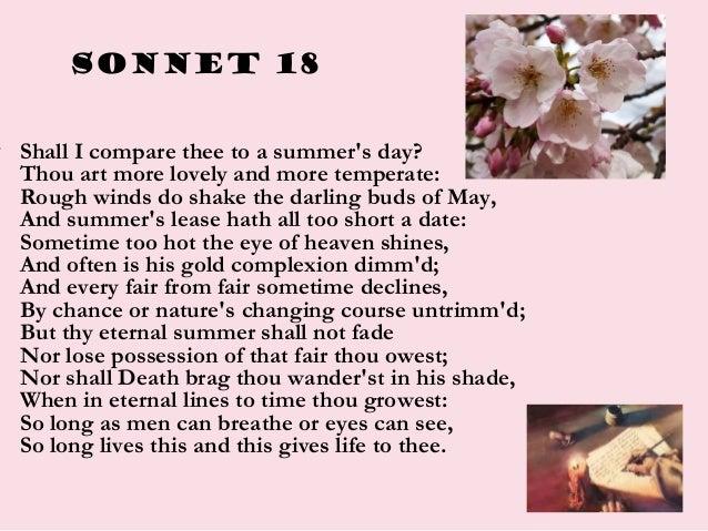 Sonnet 18 school contest (2014)