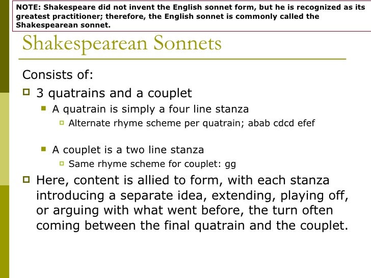 what are quatrains and couplets
