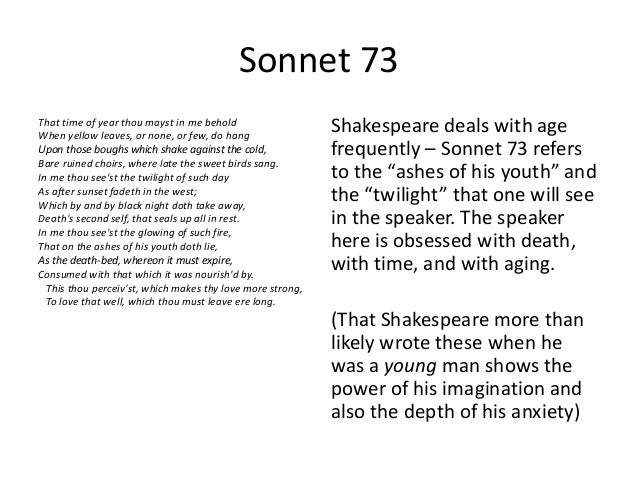 shakespeare that time of year thou mayst in me behold