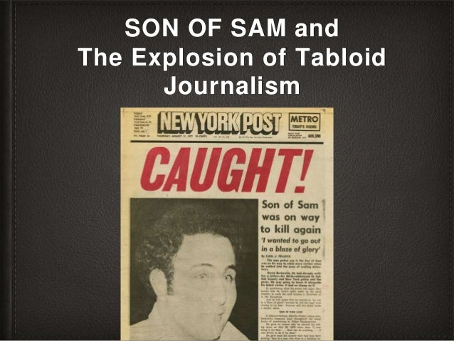 SON OF SAM and The Explosion of Tabloid Journalism