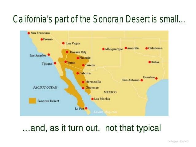 sonoran desert location map Sonoran Desert 2018 sonoran desert location map