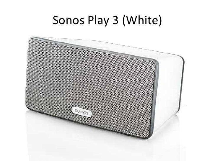 Sonos Play 3 (White)