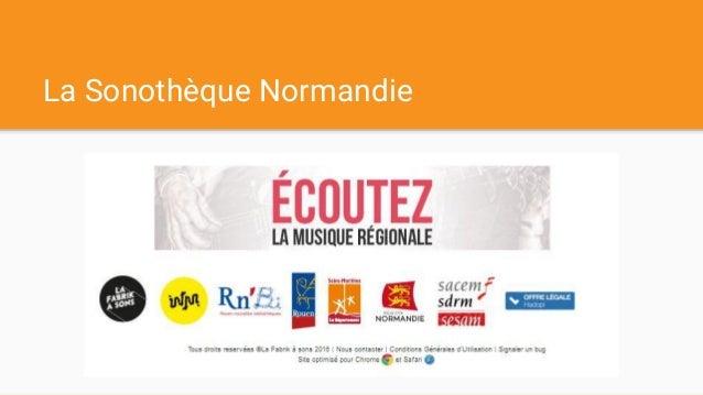 La Sonothèque Normandie