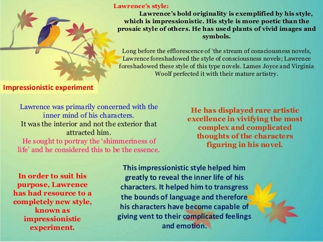 symbolism in sons and lovers