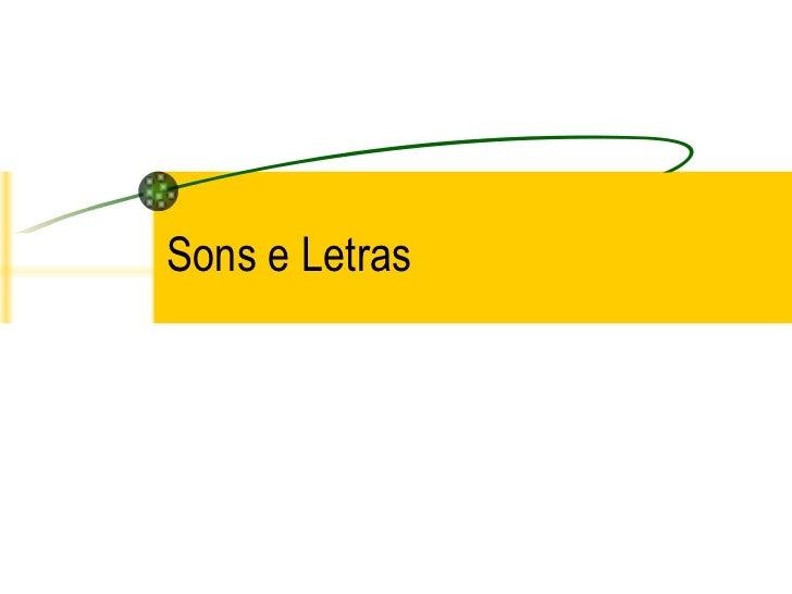 Sons e Letras