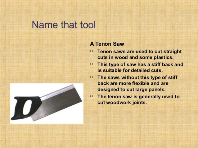 Ppt On Wood Joints And Carpentry Tools
