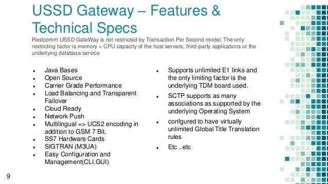 TelScale USSD Gateway