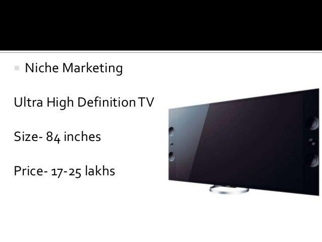 Sony Corporation's Marketing Mix (4Ps) Analysis