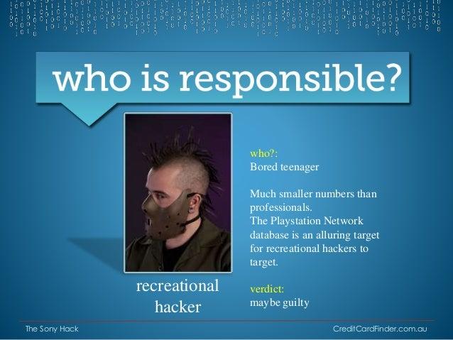Who Hacked Psn