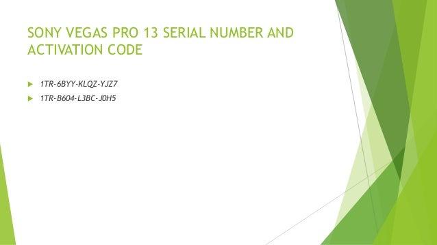 sony vegas pro 9.0 activation code