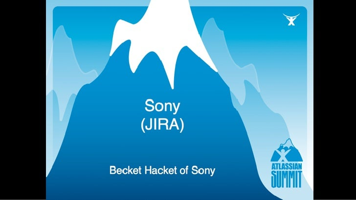 SONY Computer Entertainment           Becket Hacket     Sony, Information Portals                          Confidential In...