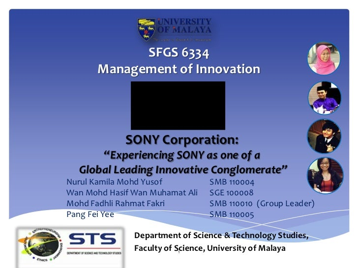 evaluation of sony corporation s strategy Effective performance management with the balanced effective performance management 1 contents 1 development of scorecard thinking 3g20/oecd principles of.