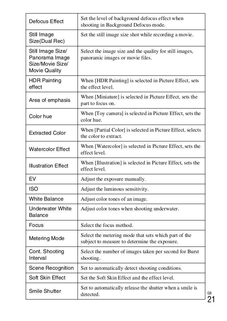 manual sony rx100 pdf