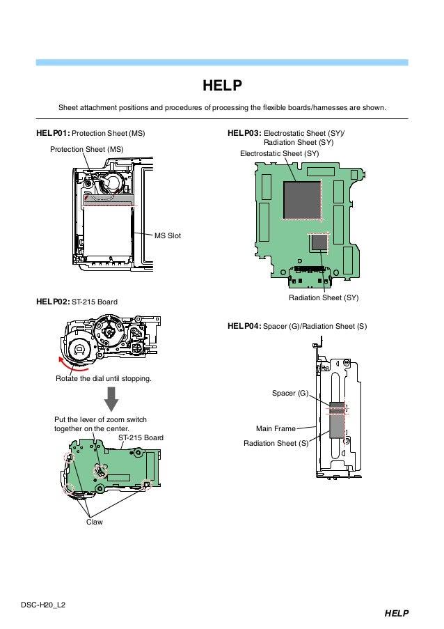 sony dsc h20 service manual level 2 ver 1 1 2009 04 rev 1 9 852 683 rh slideshare net ADT DSC Manual ADT DSC Manual