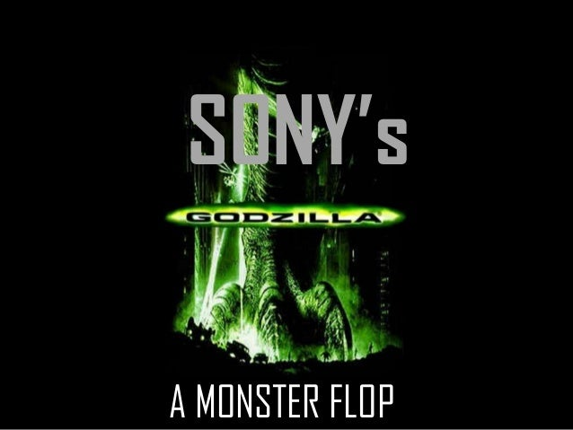 SONY's A MONSTER FLOP