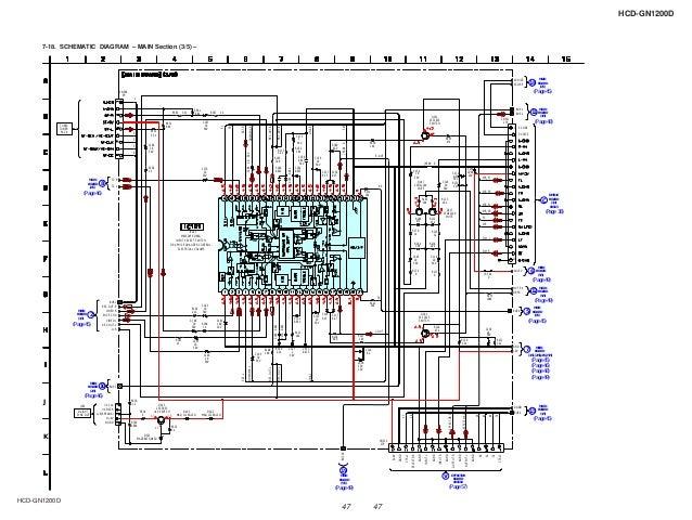 sony hcd gndsm, wiring diagram