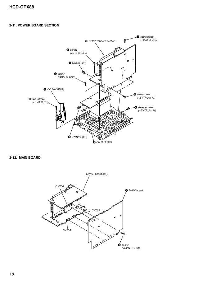 Sony hcd-gtx88