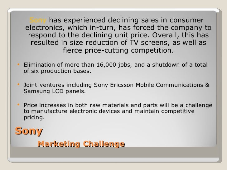 """marketing plan for sony ericsson Inside sony's experiential marketing strategy  """"experiential marketing as a share of sony's total marketing dollars has  how sponsors plan to activate."""