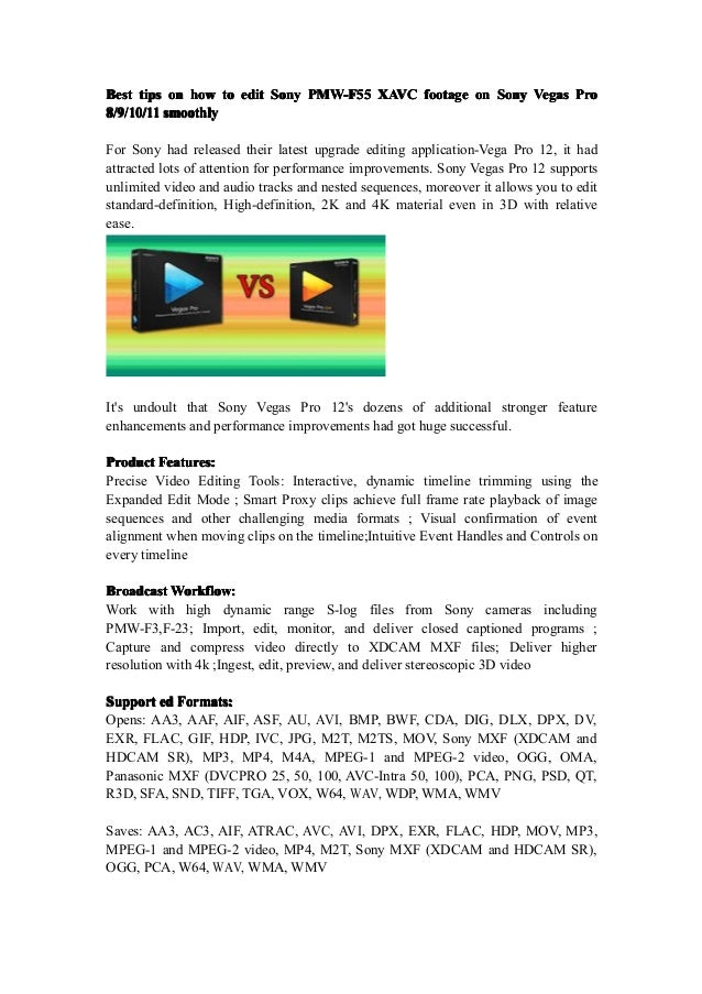 BestBestBestBest tipstipstipstips onononon howhowhowhow totototo editediteditedit SonySonySonySony PMW-F55PMW-F55PMW-F55PM...