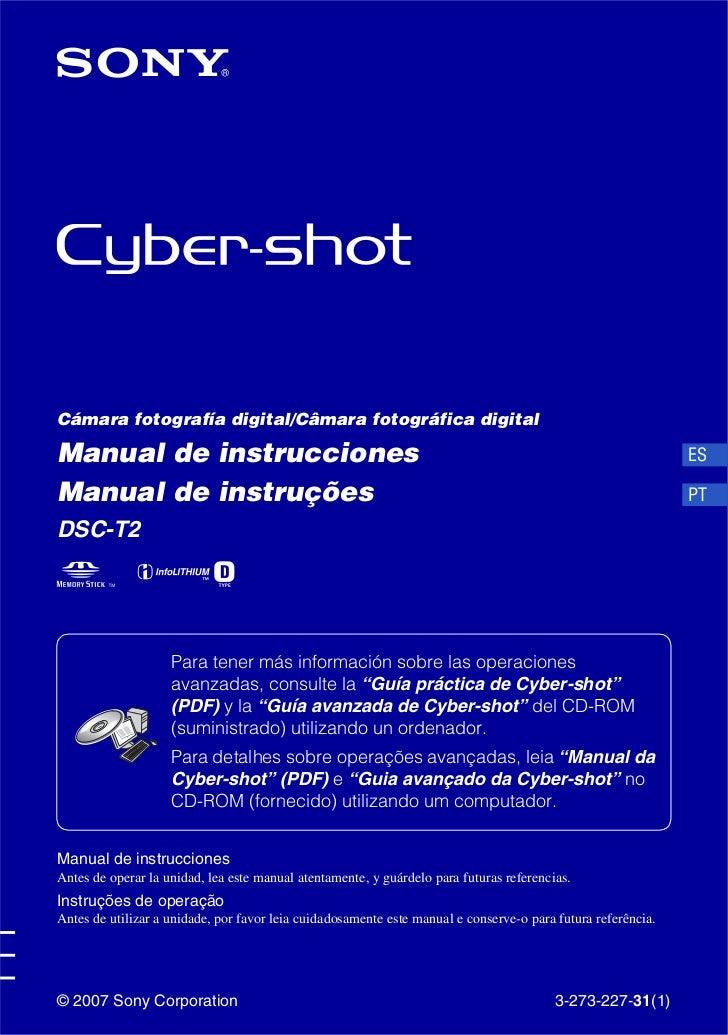 Cámara fotografía digital/Câmara fotográfica digitalManual de instrucciones                                               ...