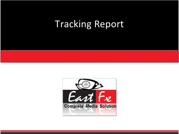 Tracking Report<br />